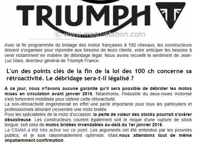 Fin du bridage des motos françaises à 100 chevaux  Captur10