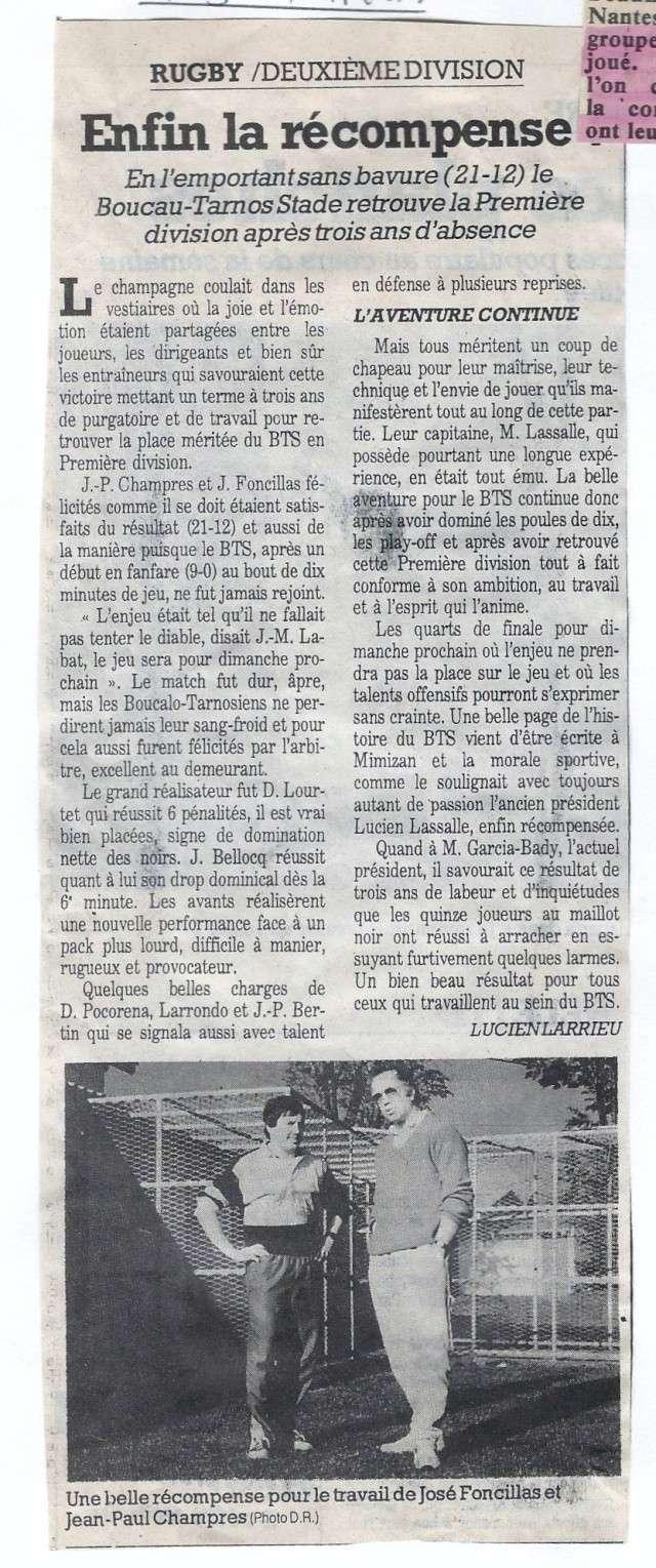 Il y a 20 ans (1994) le BTS finaliste de 2ème Division..... Que sont-ils devenus ??? Articl12