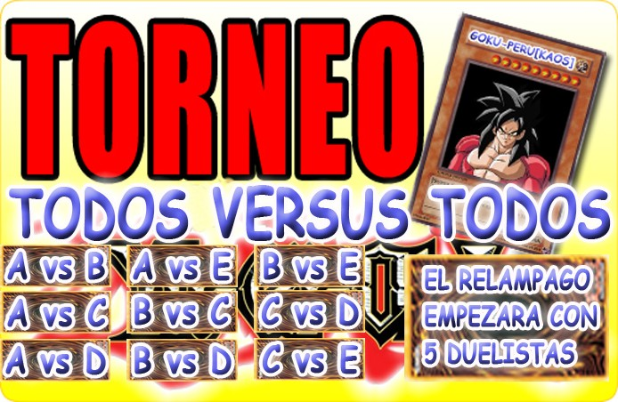 RELAMPAGO ALL CARDS Torneo10