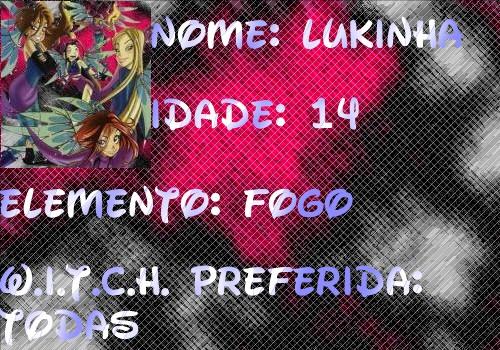 W.I.T.C.H. no buddy poke  do orkut Ficha10