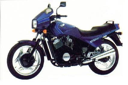L'historique des moteurs en V Honda 2_vt5010