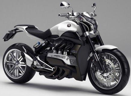 Avancées technologiques - avenir de la moto. Honda110