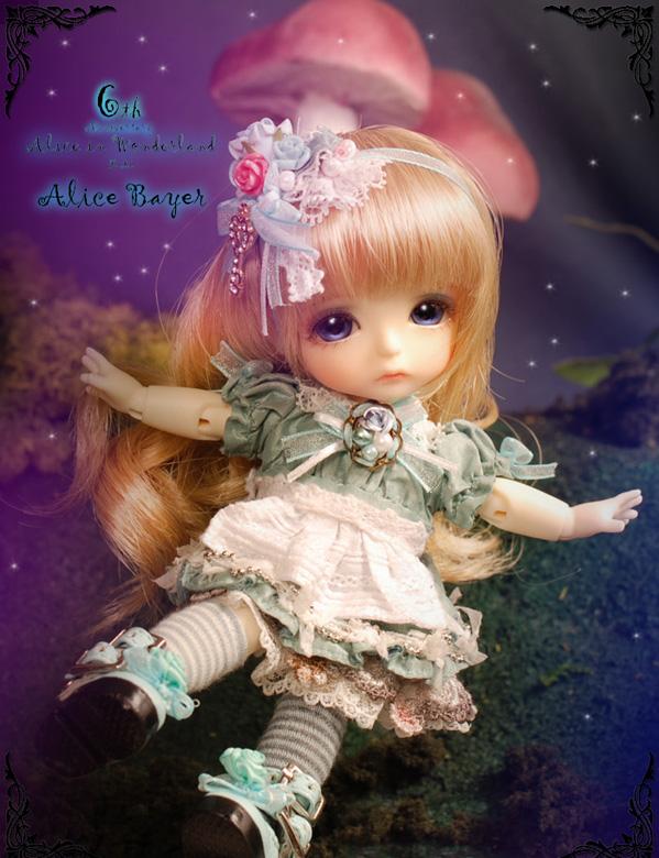Yellow - Limited Alice In Wonderland ver. Alice - G.Bayer Yelllo10
