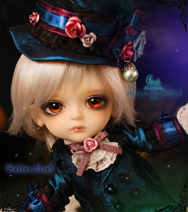 Yellow - Limited Alice In Wonderland ver. Mad Hatter Miel Yelllo11