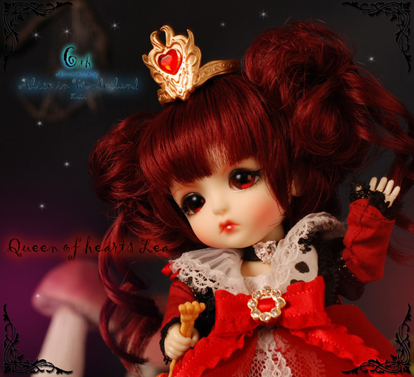 Yellow - Limited Alice In Wonderland ver. Queen of Heart Lea Yelllo13