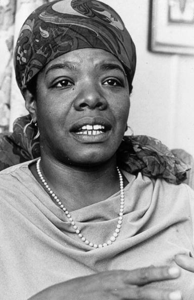 La grande poétesse, écrivain, actrice et militante afro-américaine Maya Angelou  10372510