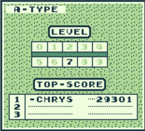 [Jeux Rétrolympiques 2014] Round 6 : Tetris Score11