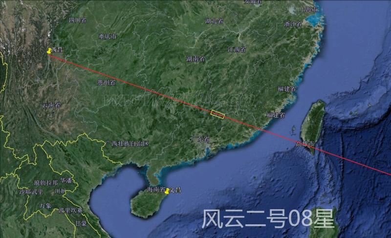 Lancement CZ-3A / FY-2-08 à XSLC - 31 Dec 14 [Succès] Milita25