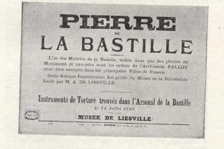 Palloy - Palloy, le démolisseur de la Bastille 01810110