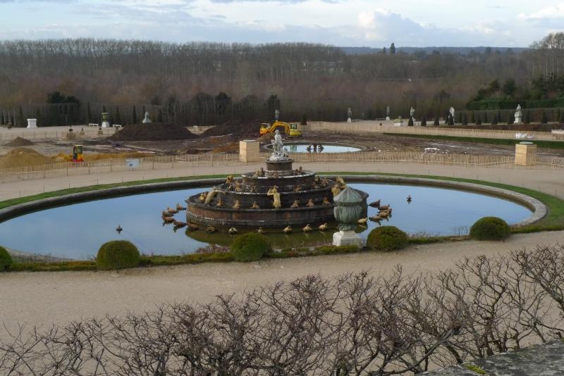 Restauration du bassin de Latone 11111112