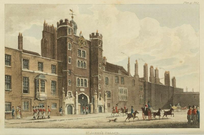 ...  à Londres, Saint-James Palace 1812-v10