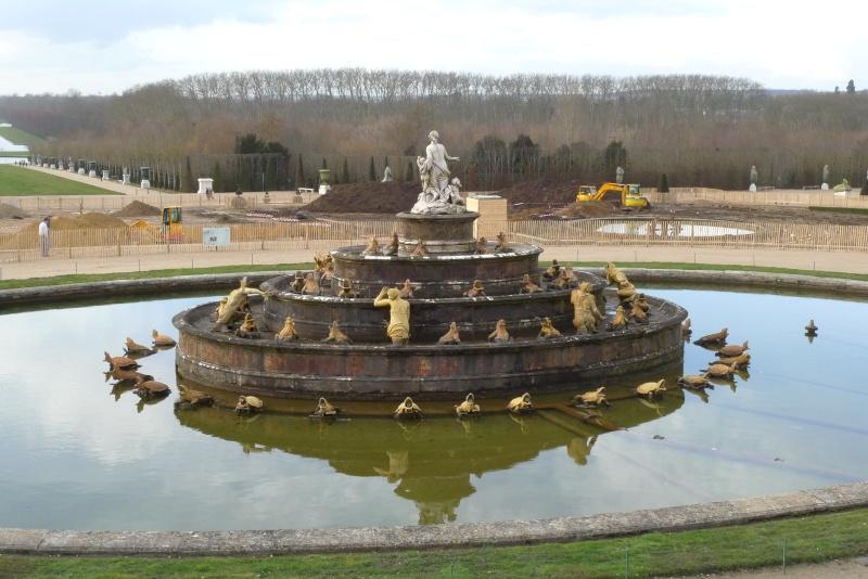 Restauration du bassin de Latone 22222212