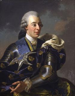 Le roi Gustave III  de Suède 250px-10