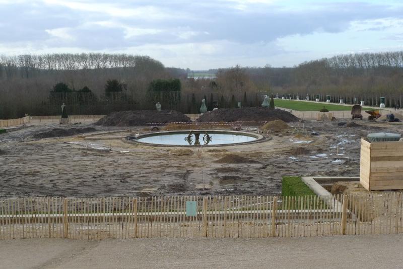 Restauration du bassin de Latone 33333312