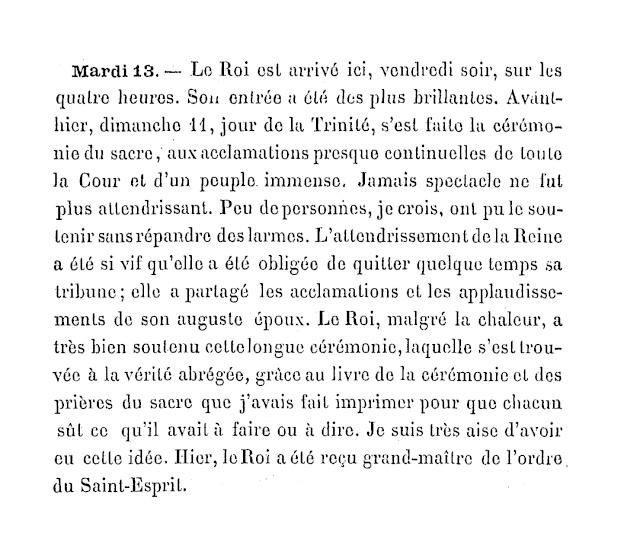 Le couronnement et le sacre de Louis XVI 33333313