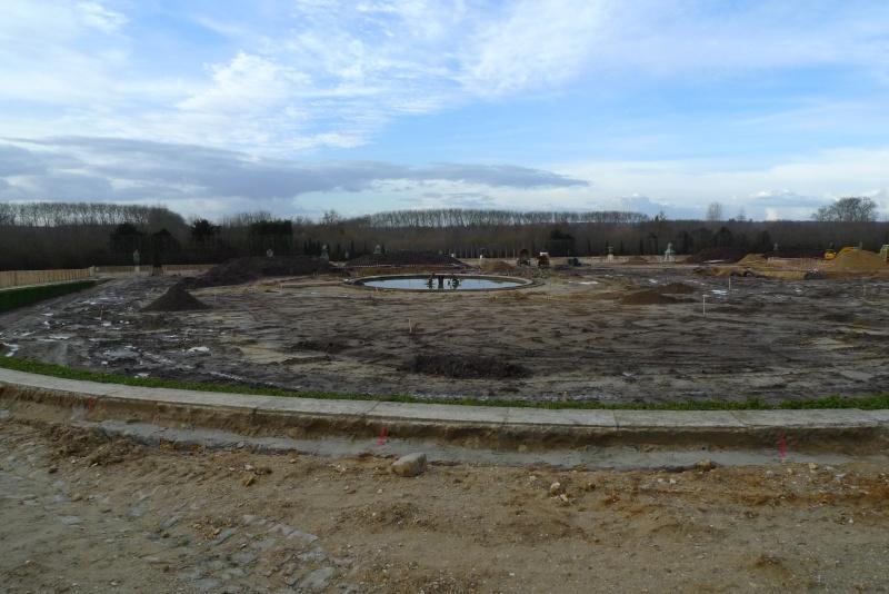 Restauration du bassin de Latone 44444412