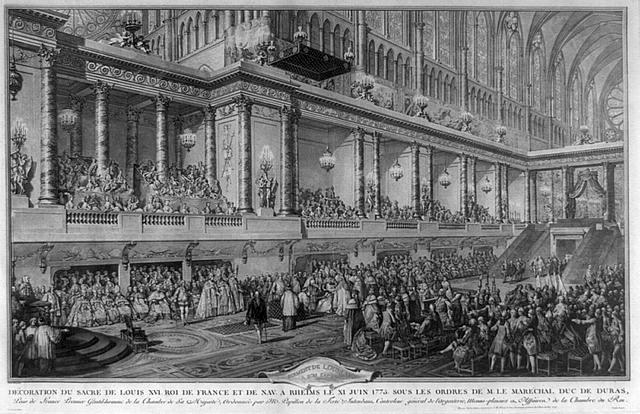 Le couronnement et le sacre de Louis XVI 44444413