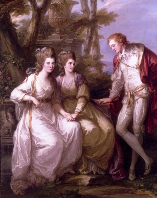 Lettres de Mme de Polignac à Georgiana, duchesse de Devonshire Angeli11
