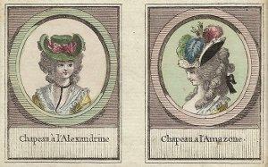 Les coiffures au XVIIIe siècle  - Page 2 Chapea10