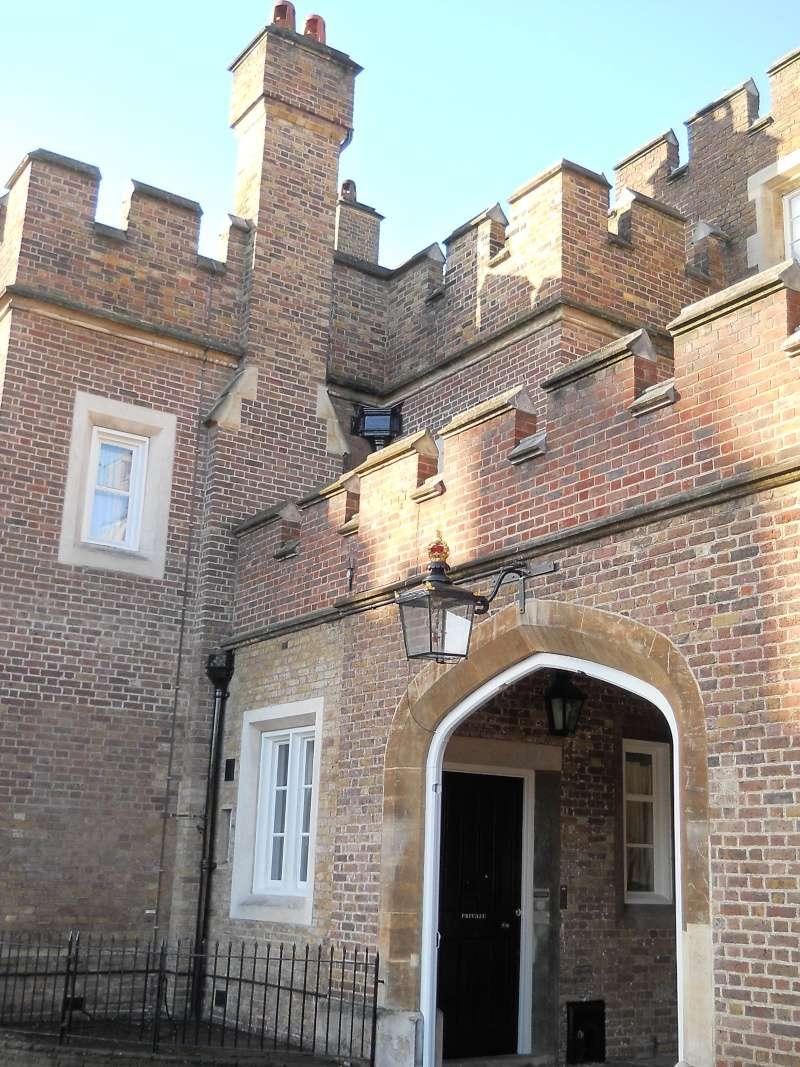 ...  à Londres, Saint-James Palace Dscn6934