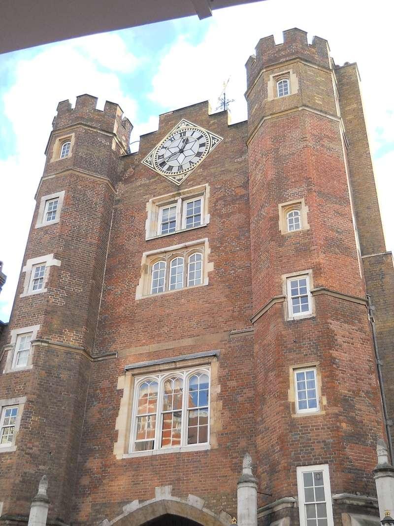 ...  à Londres, Saint-James Palace Dscn6936