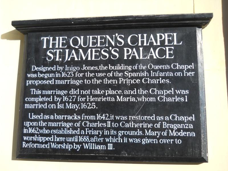 ...  à Londres, Saint-James Palace Dscn6940