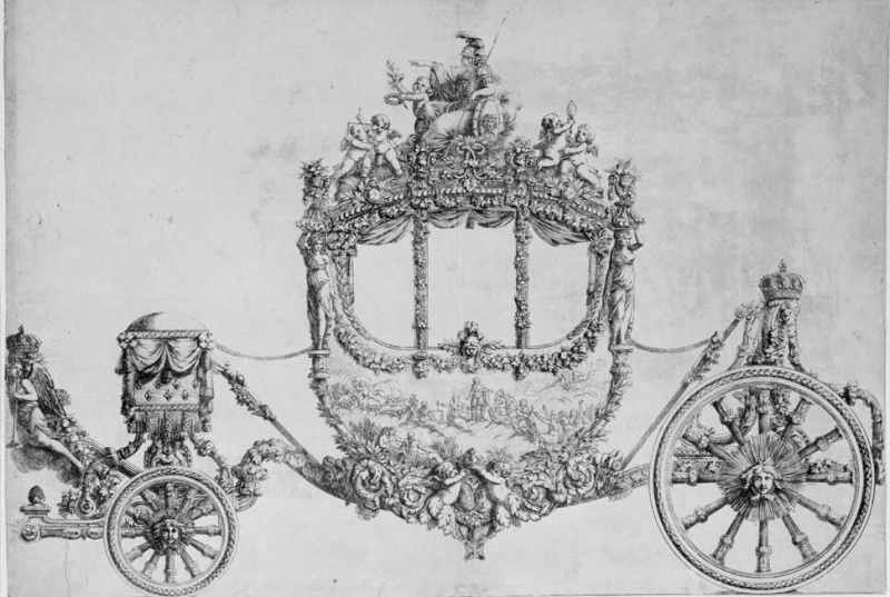 Le couronnement et le sacre de Louis XVI Gravur10