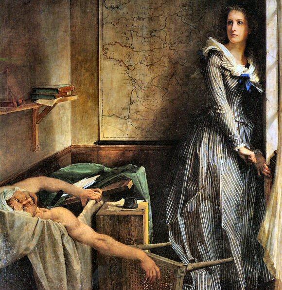 Marie-Antoinette ou l'éloge de la couleur ... Marat-10