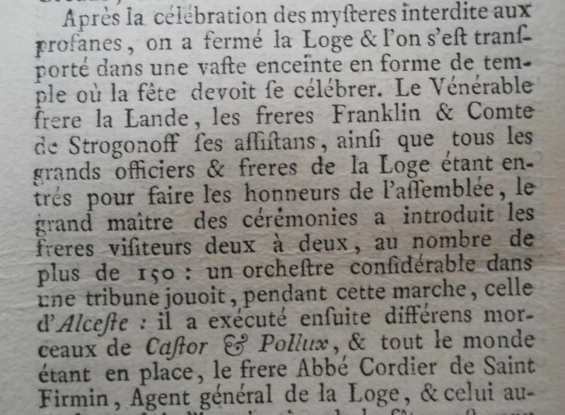 La mort de Voltaire, selon les Mémoires Secrets . - Page 2 Memoi165