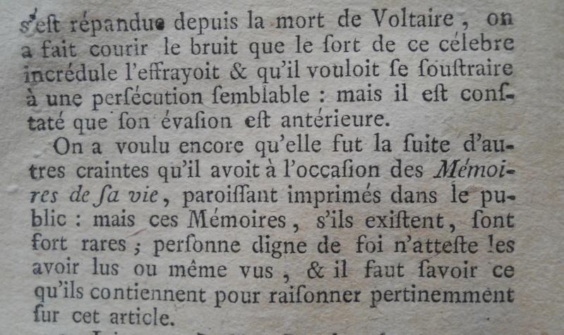 La mort de Jean-Jacques Rousseau Memoir88