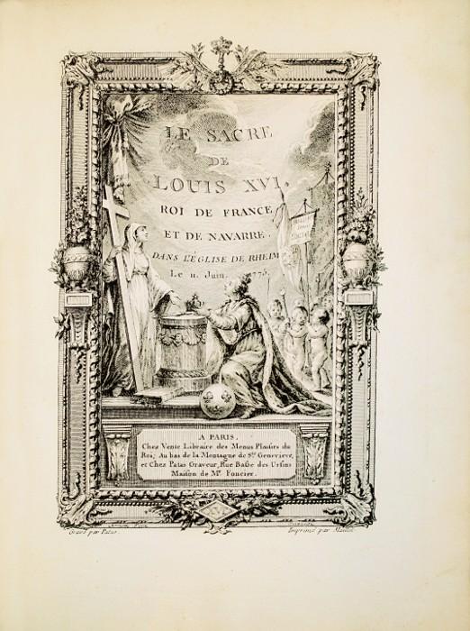 Le couronnement et le sacre de Louis XVI Patas_10