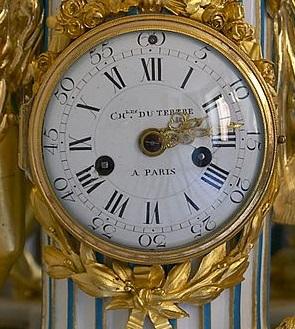 Pendules et horloges de Marie-Antoinette Pendul10