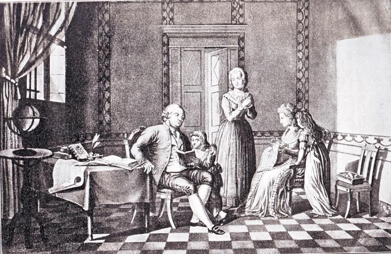 Le transfert de la famille royale des Tuileries au Temple ... Temple10