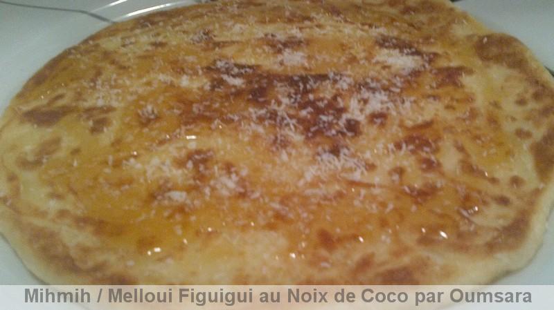 Mihmih Mssakar au Noix de Coco محمح / Melloui (Mellwi) Figuigui sucré / Melloui de la ville de Figuigue au Noix de Coco Mihmih17