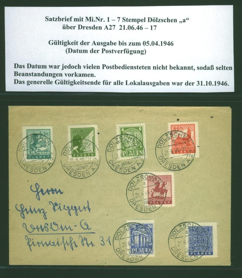 1945 - Deutsche Lokalausgaben nach 1945 Lokala14