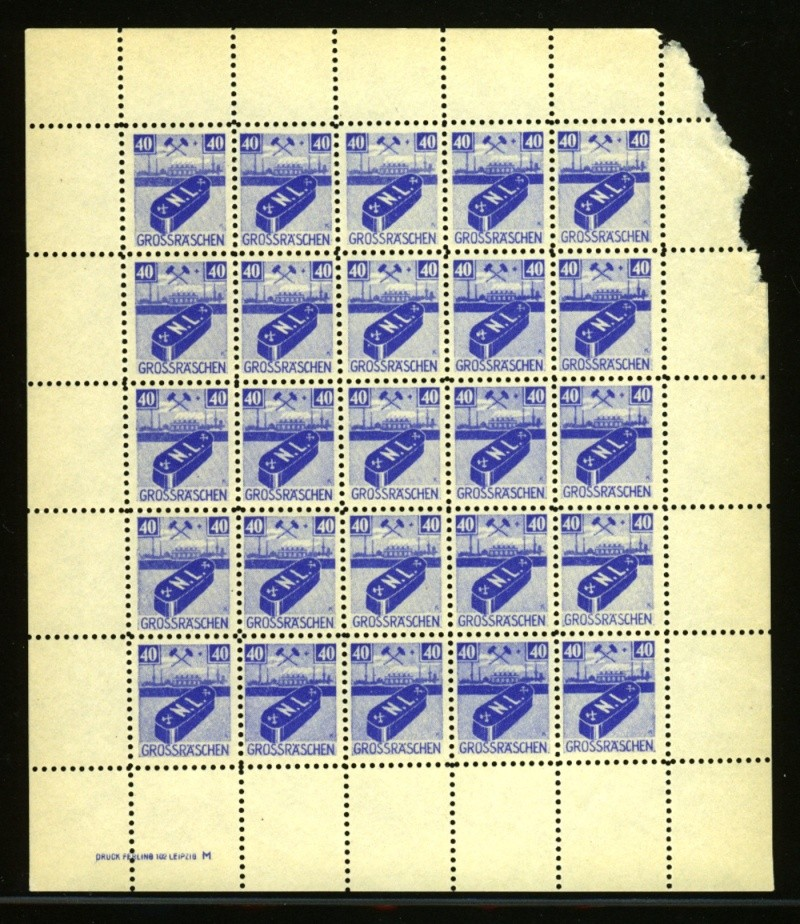1945 - Deutsche Lokalausgaben nach 1945 Lokala20