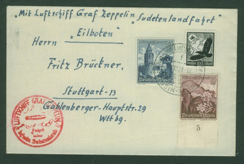 Zeppelinpost des LZ 130 Zeppel10