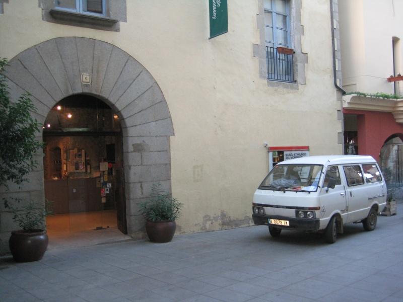 Museo etnográfico de La Gabella en Arbúcies (Gerona)//muela de molino. Img_5916