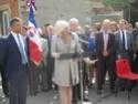 (N°51)Photos de la cérémonie commémorative du 70 eme anniversaire de la libération de la ville de Bar-le-Duc.Photos prise le 31 Août 2014, avec Madame Helen Patton , petite fille du Général Patton.(Photos de René PADER) 10309110