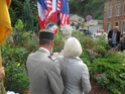 (N°51)Photos de la cérémonie commémorative du 70 eme anniversaire de la libération de la ville de Bar-le-Duc.Photos prise le 31 Août 2014, avec Madame Helen Patton , petite fille du Général Patton.(Photos de René PADER) 10375910