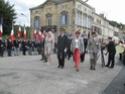 (N°51)Photos de la cérémonie commémorative du 70 eme anniversaire de la libération de la ville de Bar-le-Duc.Photos prise le 31 Août 2014, avec Madame Helen Patton , petite fille du Général Patton.(Photos de René PADER) 10613010