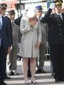 (N°51)Photos de la cérémonie commémorative du 70 eme anniversaire de la libération de la ville de Bar-le-Duc.Photos prise le 31 Août 2014, avec Madame Helen Patton , petite fille du Général Patton.(Photos de René PADER) 10645110
