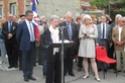 (N°51)Photos de la cérémonie commémorative du 70 eme anniversaire de la libération de la ville de Bar-le-Duc.Photos prise le 31 Août 2014, avec Madame Helen Patton , petite fille du Général Patton.(Photos de René PADER) 10649610