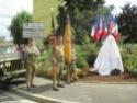 (N°51)Photos de la cérémonie commémorative du 70 eme anniversaire de la libération de la ville de Bar-le-Duc.Photos prise le 31 Août 2014, avec Madame Helen Patton , petite fille du Général Patton.(Photos de René PADER) 70yme_10