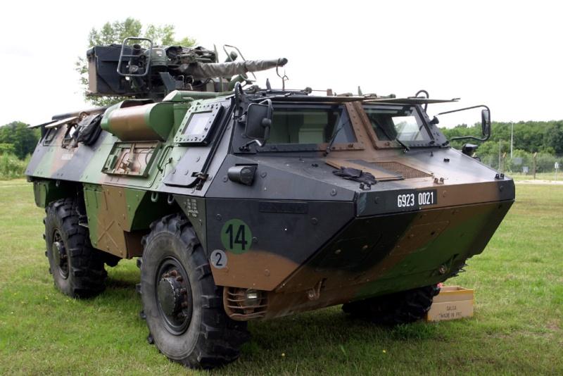 Le véhicule RENAULT de l'avant blindé (VAB) (Source du Ministère des Armées) Vab20m10