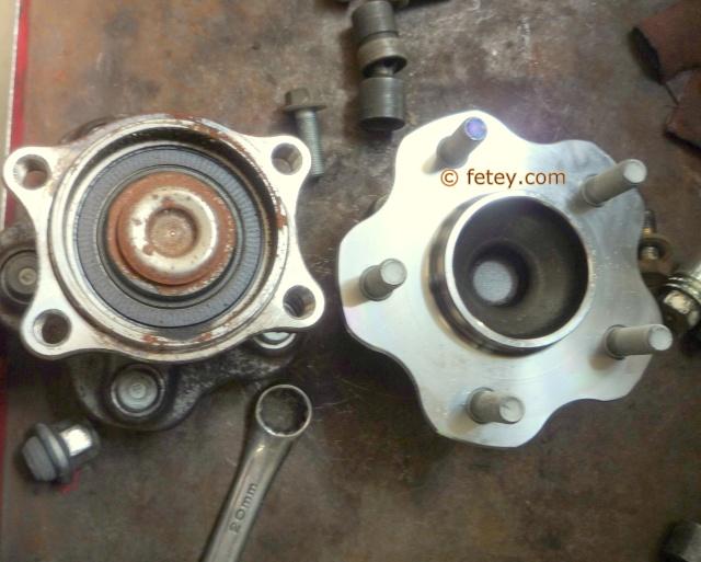 Capteur abs magnéto résistif Ford / Tone wheel Mazda démontés, roue encodée Altima10