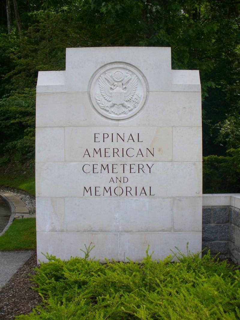 Cimetière Américain d'Epinal. P1140810