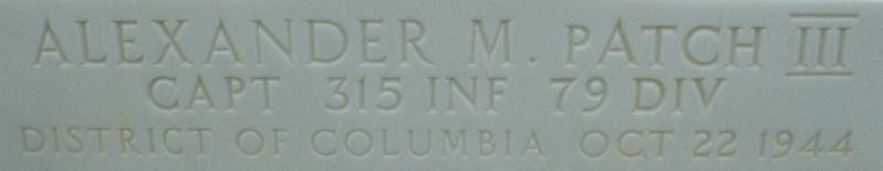 Cimetière Américain d'Epinal. P1140933