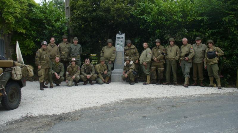 Monument WW2 - Picauville ( Normandie ) P1150336