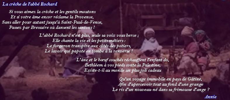 Le sonnet irrégulier : La crèche de l'abbé Rochard. Cryche10